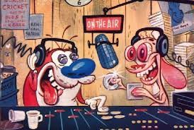 radiostudio cartoon