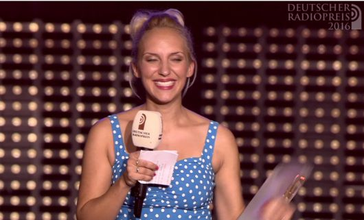 Carolin Kuhn von 105'5 Spreeradio ist beste Necomerin 2016