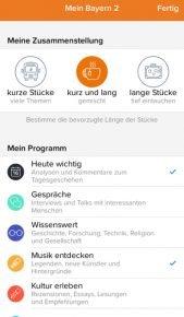 (Screenshot Bayern 2-App)