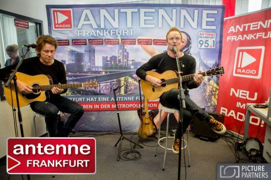 Sting uplugged bei Antenne Frankfurt (Bild: ©www.picture-partners.com)