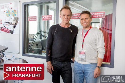 Sting und Antenne Frankfurt Geschäftsführer Stephan Schwenk (Bild: ©www.picture-partners.com)