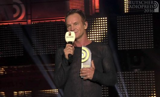"Sting: ""Radio should remain free, independent and committed to the truth"""
