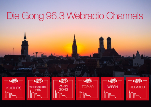 Die Gong 96.3 Webchannels