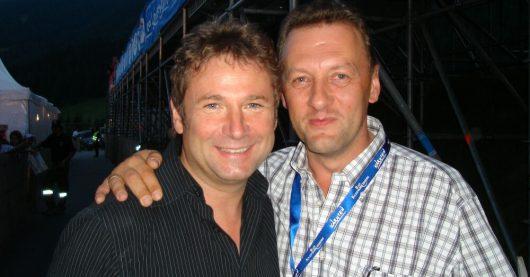 Gottfried Würcher und Manager Gustl Viertbauer (Bild: privat)