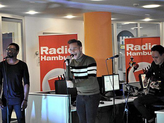 Olly Murs bei Radio Hamburg am 07. Oktober 2016 (Bild: ©Radio Hamburg)