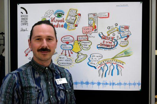 Der RIC16 von Live-Zeichner Mike Klar zusammengefasst: (Bild: Peter Rauh)