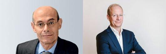 Der Alte und der Neue: Andreas Rudas (li) und Andreas Fischer (re)