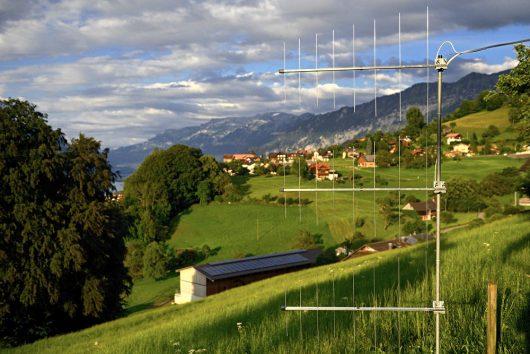 DAB-Antennenanlage (Bild: ©Stefan Grünig)