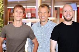 Matthias Koch, Niklas Gruse und Klaas Scholtalbers (Bild: @radio ffn)