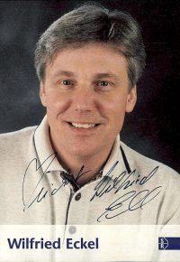 Wilfried Eckel-Autogrammkarte (Bild: ©SR)