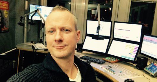 Hans Blomberg-Selfie aus dem RTL Radio Center Berlin