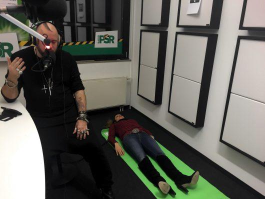 Abnehmhypnose live mit Jan Becker und Freddy im RADIO PSR-Studio