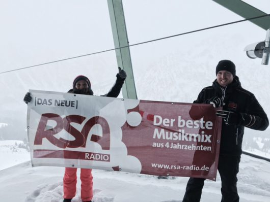 Deutschlands höchste Morningshow(Bild: ©Das Neue RSA Radio)