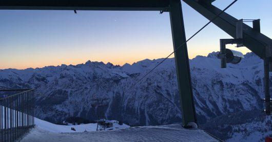 Deutschlands höchste Morningshow: Sonnenaufgang (Bild: ©Das Neue RSA Radio)