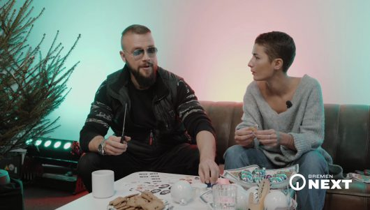 Kollegah im Gespräch mit Beri von Bremen NEXT