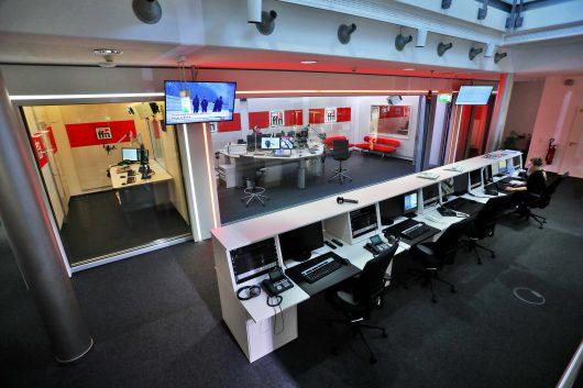 Die neuen ffn-Sendestudios (Bild: ©ffn)