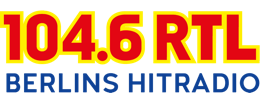 104.6 RTL – Berlins Hitradio Logo