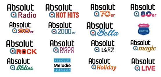 Absolut Bella und Absolut Oldie Classics neu bei Absolut Digital