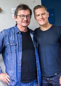 Bernd Hoffmann & Bryan Adams (Bild: @Radio Regenbogen)