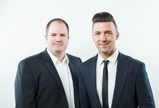 Dirk Klee und Mario Mally, (Bild: Antenne Vorarlberg)