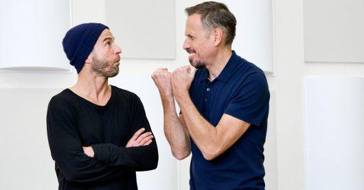 Mehmet Scholl und Achim Bogdahn (Bild: ©BR/Denis Pernath)