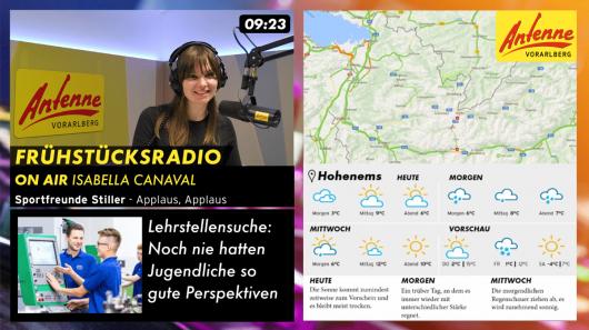Visual Radio (Bild: ©Antenne Vorarlberg)