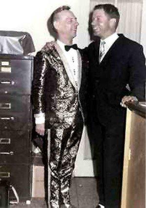 Hank Snow und Walter Fuchs (Bild: Archiv Walter Fuchs)
