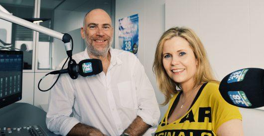 Andreas Jäger und Michaela Schaffrath im Radio38-Studio (Bild: ©Radio38)