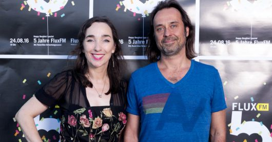 Mona Rübsamen und Markus Kühn (Bild: FluxFM)