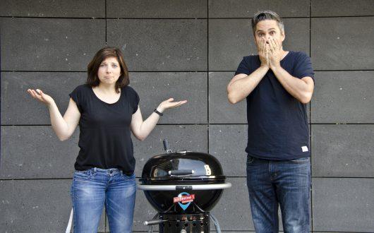 Nadja Gontermann und Oliver Ostermann. schickt antenne 1-Hörer verfrüht in den April (Bild: ©antenne 1)