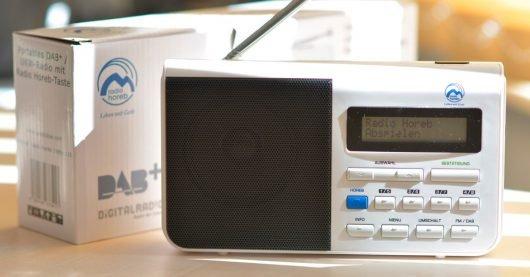 "DAB+ Radiogerät ""Horeb-Knopf"" (Bild: ©Radio Horeb)"