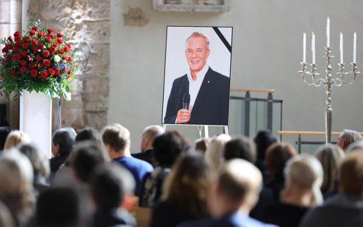 Rund 200 Freunde, Kollegen und Wegbegleiter nahmen in der Magdeburger Johanniskirche Abschied von Volker Haidt (Bild: ©radio SAW/Peter Gercke)