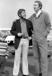 Walter Fuchs und George Hamilton IV (Bild: Archiv Walter Fuchs)