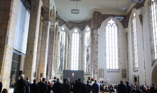 Abschied von Voklker Haidt in der Johanniskirche Magdeburg (Bild: ©radio SAW/Peter Gercke)