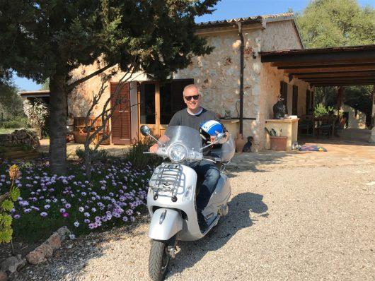 Jürgen Mayer auf Mallorca (Bild: privat)