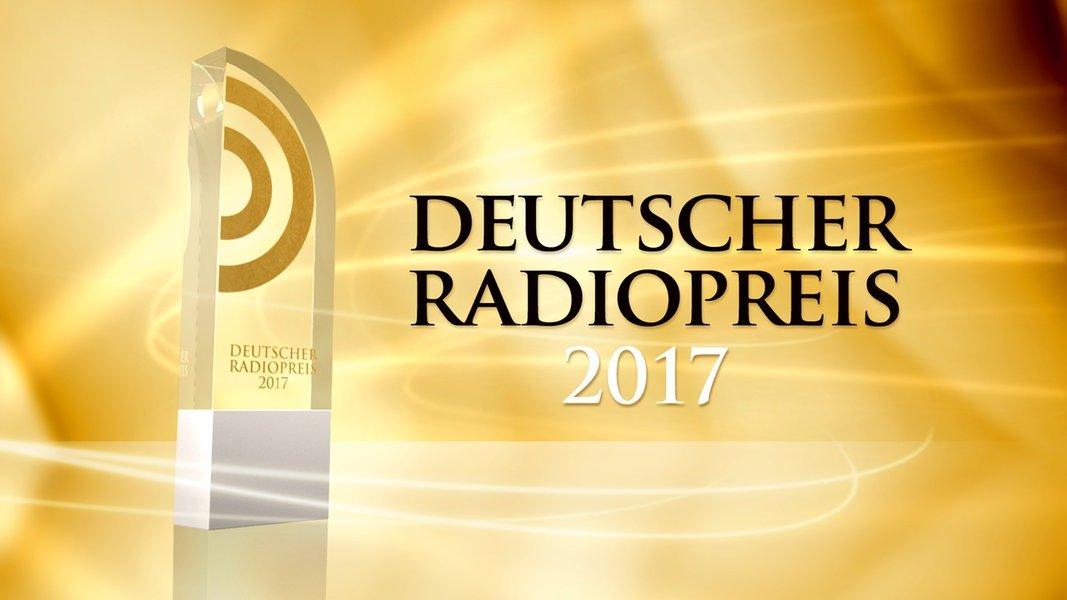 Deutscher Radiopreis Nominierungen 2017