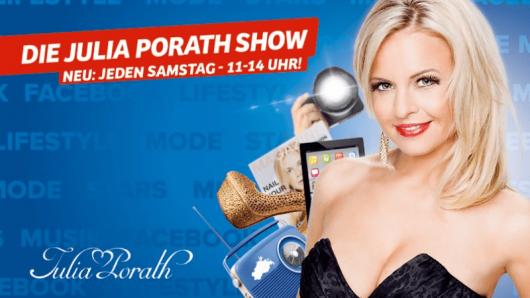 Julia Porath jeden Samstag von 11-14 Uhr auf Antenne MV
