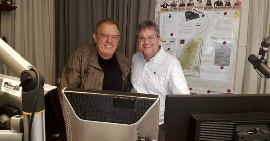 Rainer Nitschke und Jörg Schoett (Bild: @Schwarzwaldradio)