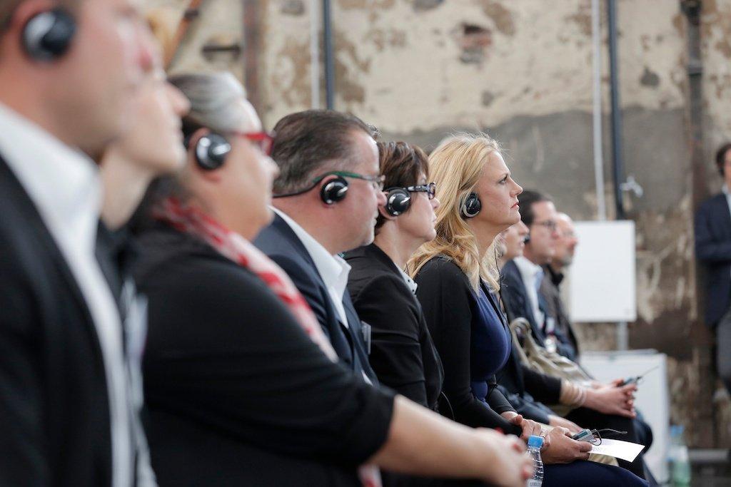 Silent Conference (mit Barbara Schöneberger)