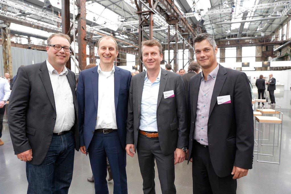 Jörg Brandt (Omnicom Media Group), Andi Lang (Bayerische Lokalradio Werbung), Dirk Honert (Omnicom Media Group), Tobias Hoffmann (Heye OMD)