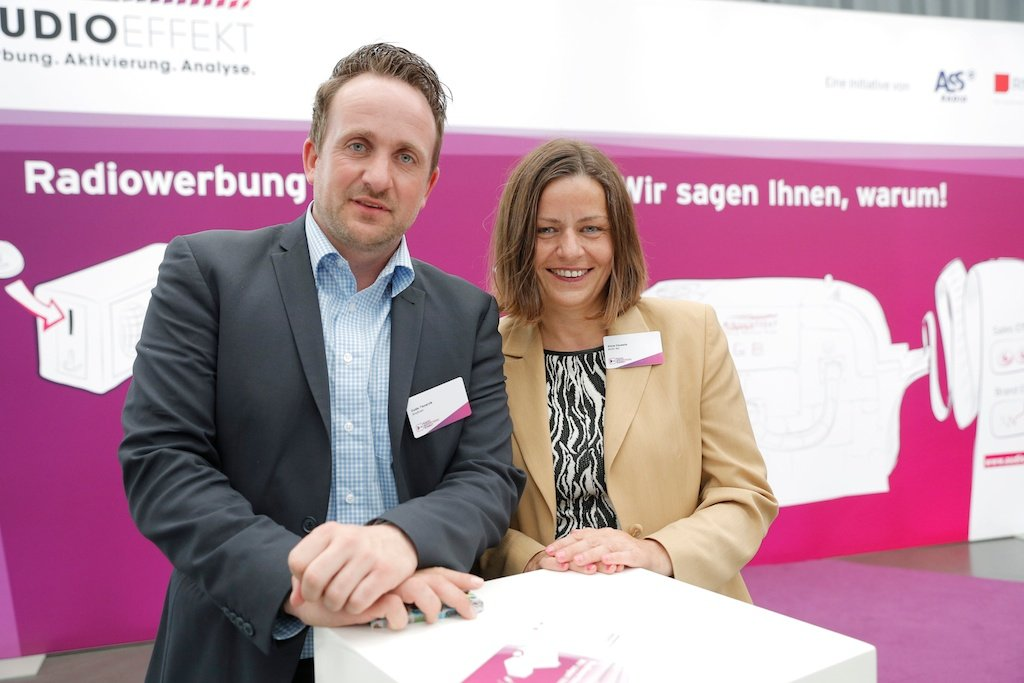 Guido Tiesarzik (AnyEver), Silvia Chudalla (AUDI AG)