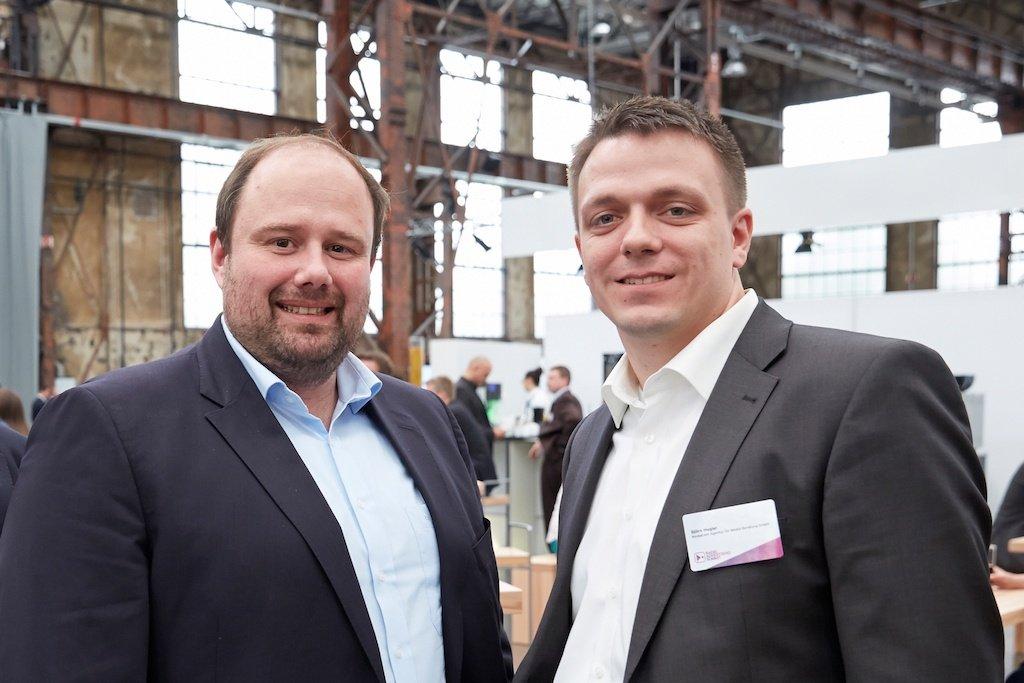 Sascha Köhnen, Björn Hugler (beide MediaCom)