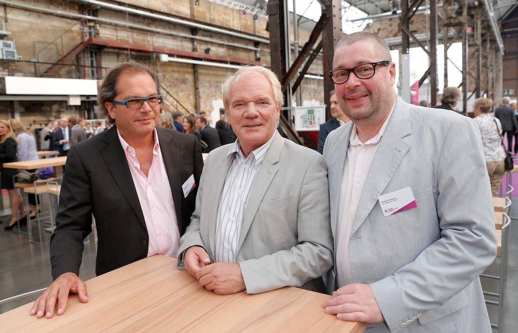 Klaus-Peter Schulz (k2 mediasales), Lutz Kuckuck (Radiozentrale), Michael Enzenauer (k2 mediasales)
