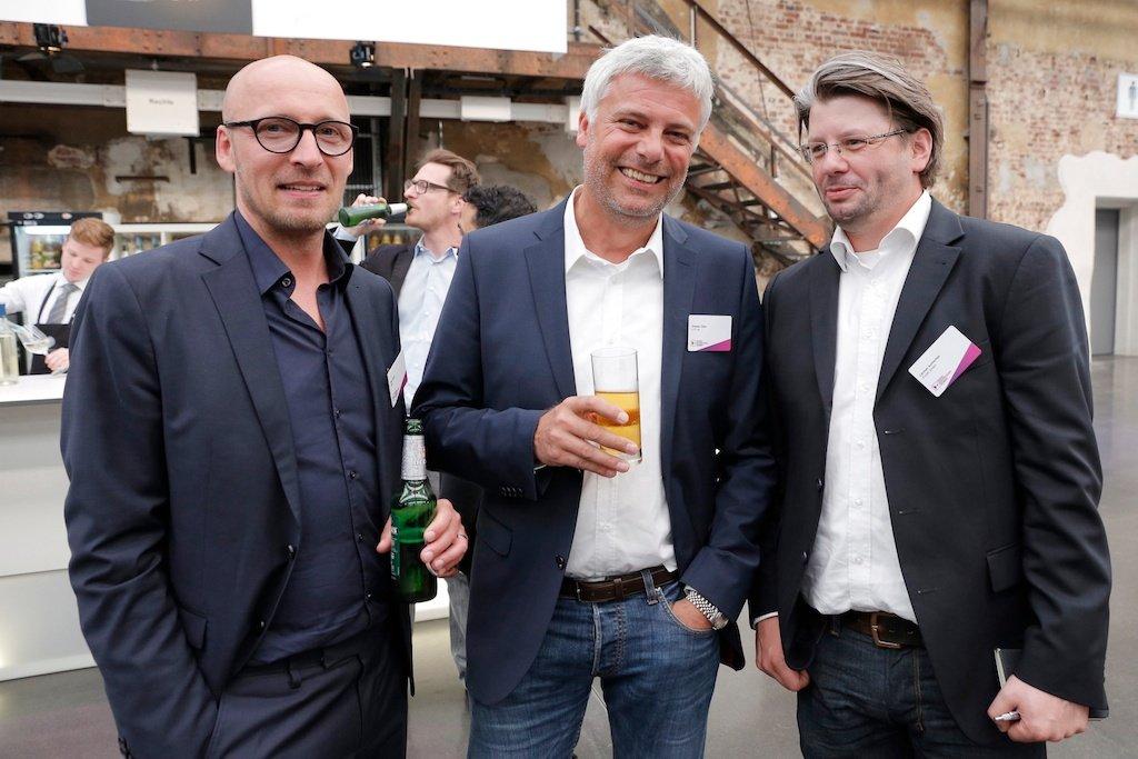 Sten Foeth (RMS), Stephan Zilges (0.77.34), Carsten Achterfeld (Vivaki)