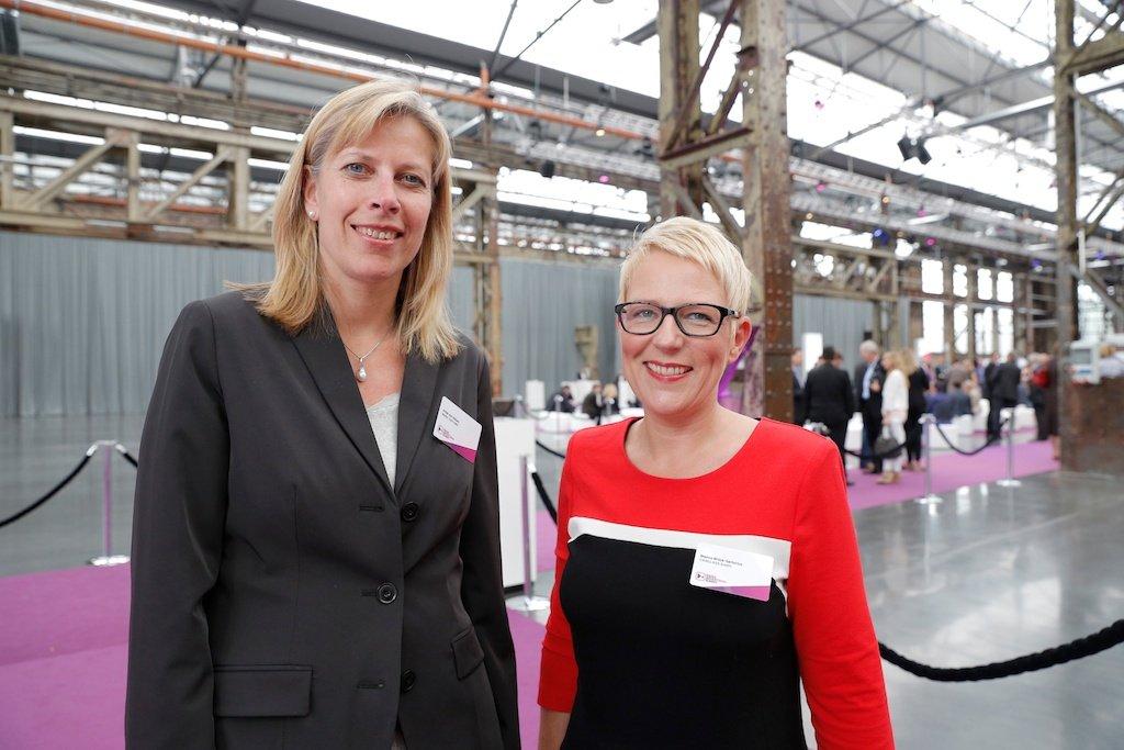 Antje von Hülsen (Mediateam OMD), Bianca Brück-Sartorius (Carglass)
