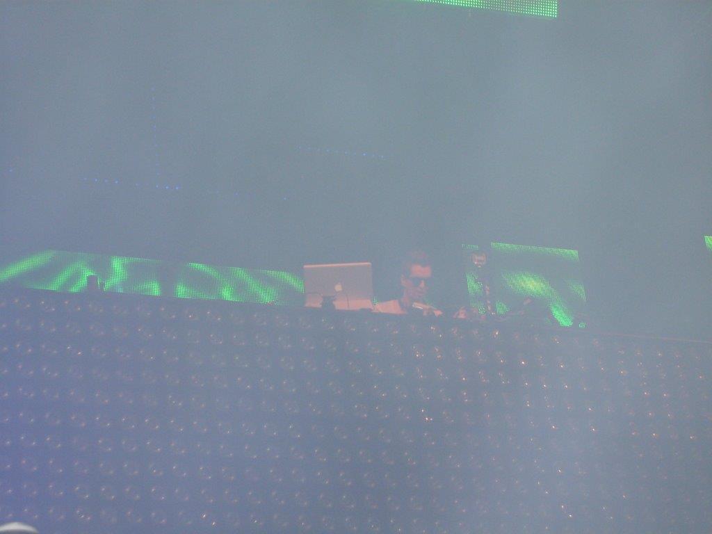 DJ Robin Schulz auf der Bühne