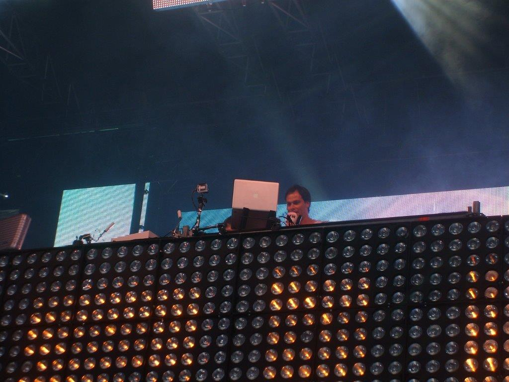 Daniel Fischer in seiner neuen Rolle als DJ