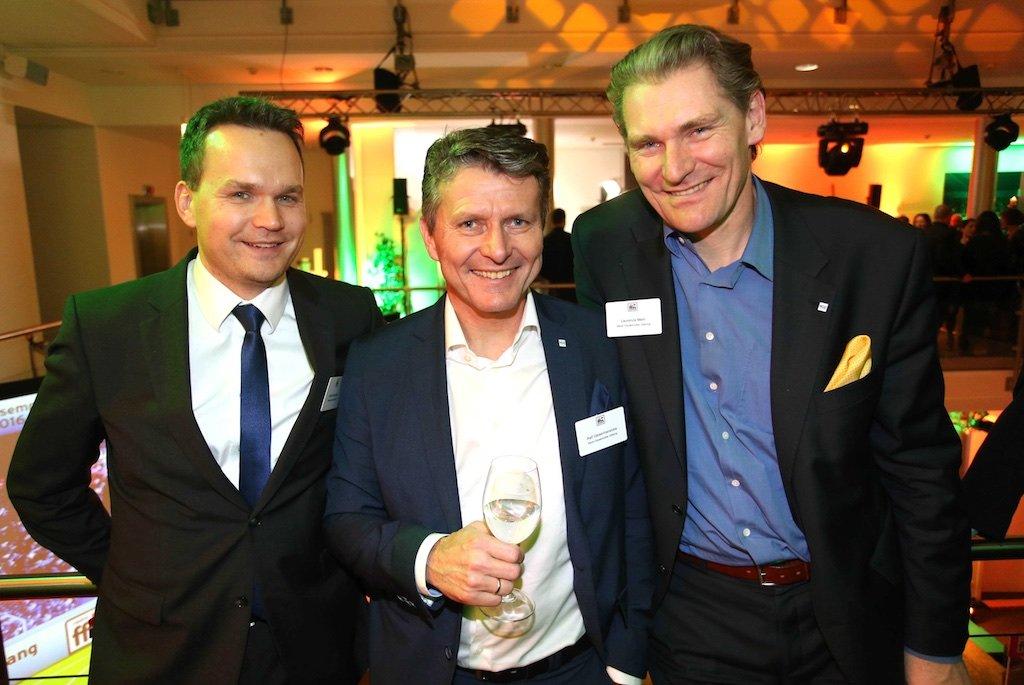 Jochen Anderweit (Grafschafter Nachrichten), Ralf Geisenhanslüke, Laurence Mehl (beide Neue Osnabrücker Zeitung)