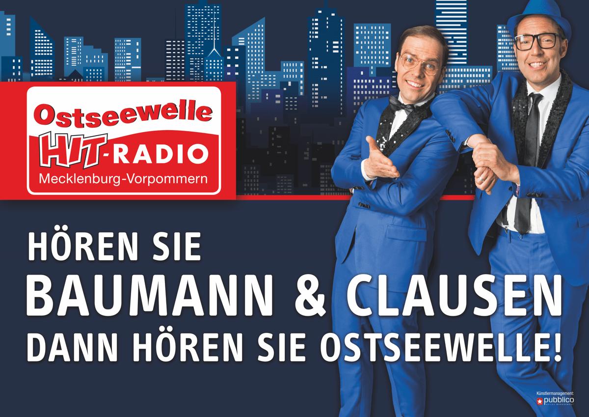 Baumann & Clausen ab jetzt bei Ostseewelle