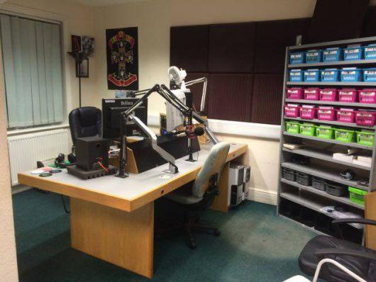 Radio Caroline-Studio (BIld: ©Radio Caroline)